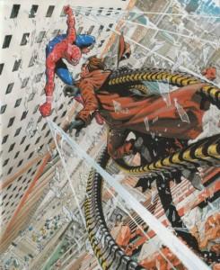 Un bel hommage à l'homme araignée
